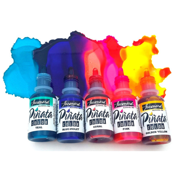 JACQUARD PINATA Alcohol Inks Bottles - Assorted Colours