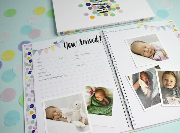 NEW EDITION Memories for my Baby - Record Book Journal Scrapbook