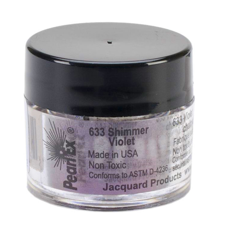 Jacquard Pearl Ex Mica Dry Powder Pigments - Shimmer Violet 3gm