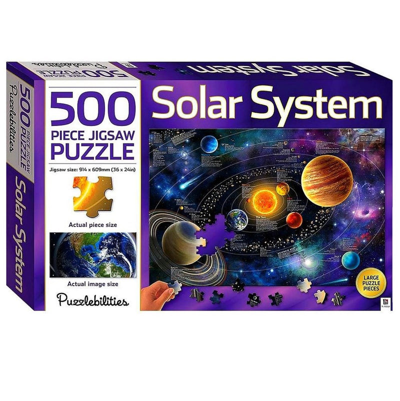 Hinkler Hinkler Puzzlebilities 500pcs Jigsaw Puzzle Solar System