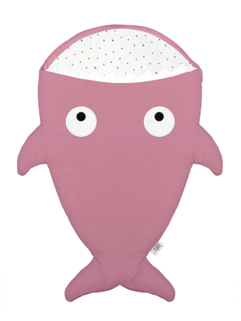 Fishy in PINK FLIES  Sleeping Bag 🦋 🐟 🎁