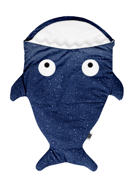 Fishy in STAR BLUE Pattern sleeping bag 🐡🎁