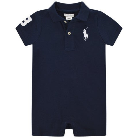 Polo Ralph Lauren Big Pony Infant Shortall