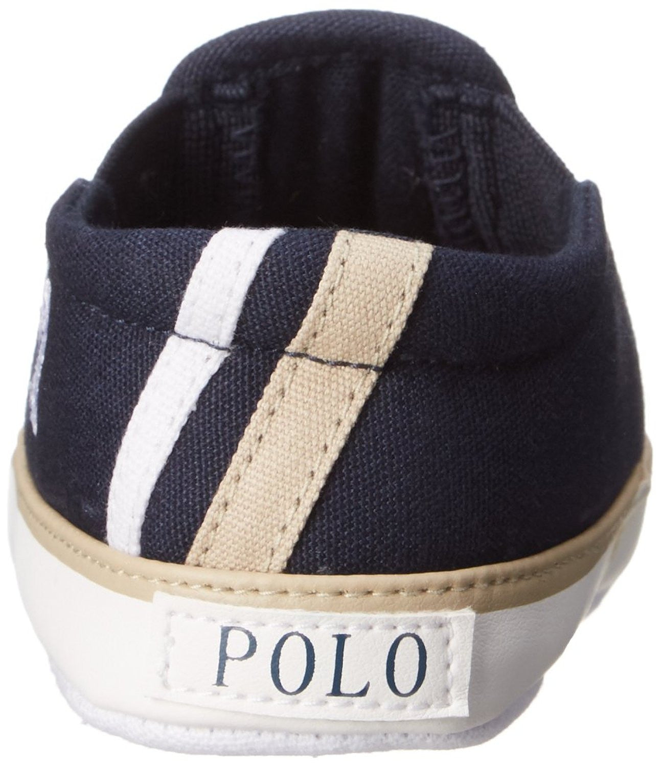 RALPH LAUREN Layette Victory Slip with Logo