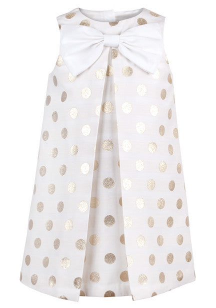 Sparkle Dot Shift Dress