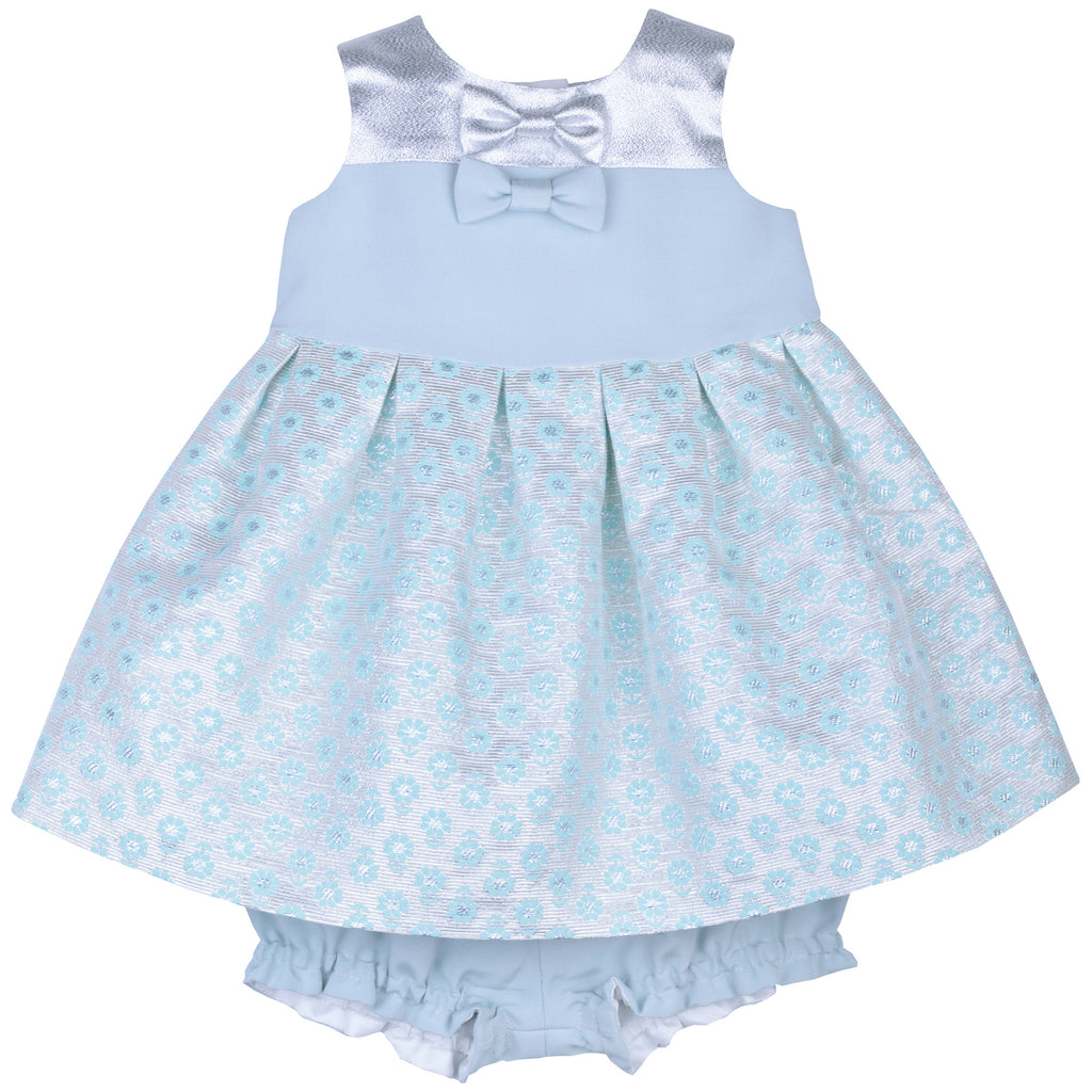 Mini Meadow Bodice Dress & Bloomer Set