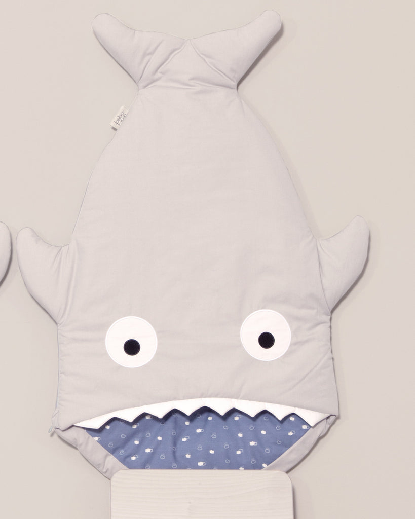 Blue Sleeping Set (Sleeping bag + Bib + Muslin) 🐠