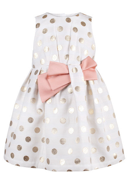 Sparkle Dot Bodice Dress