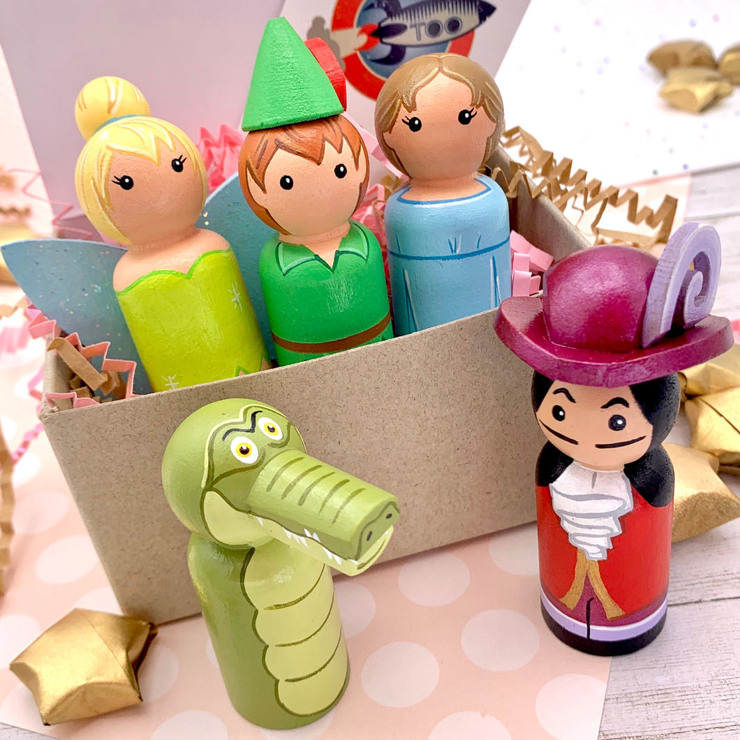 Peter Pan Peg Dolls
