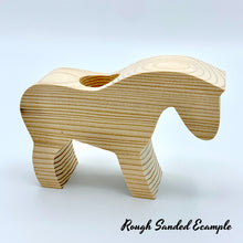 Load image into Gallery viewer, Wooden Horse