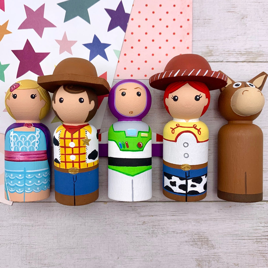 Toy Story Peg Dolls