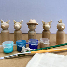 Load image into Gallery viewer, DIY Peg Dolls