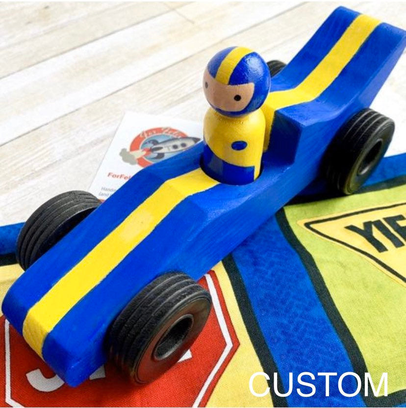 Race Car and Driver Play Set