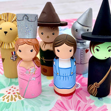 Load image into Gallery viewer, Wizard of Oz Peg Dolls