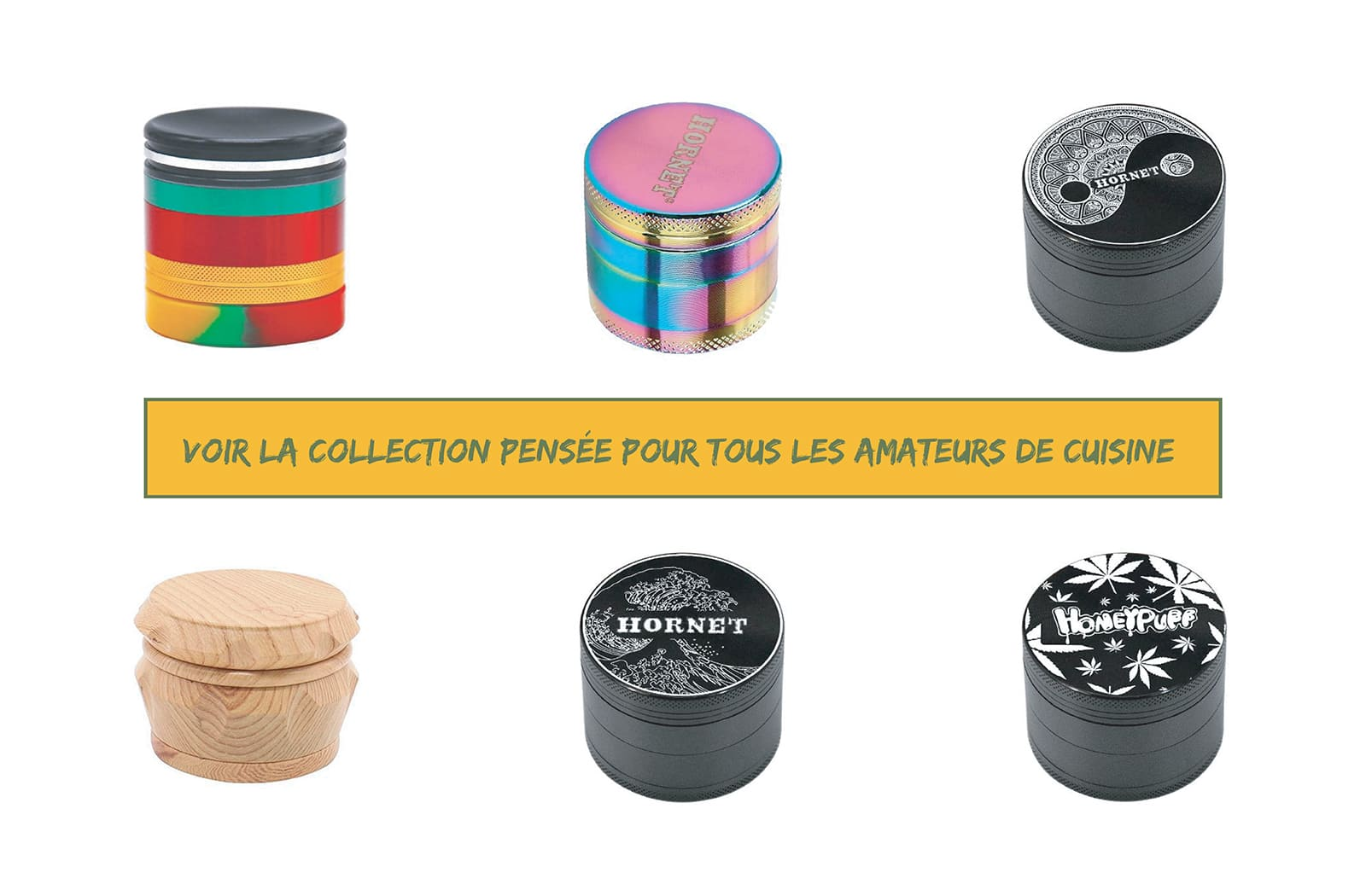 Collection Grinder Amateur de salade