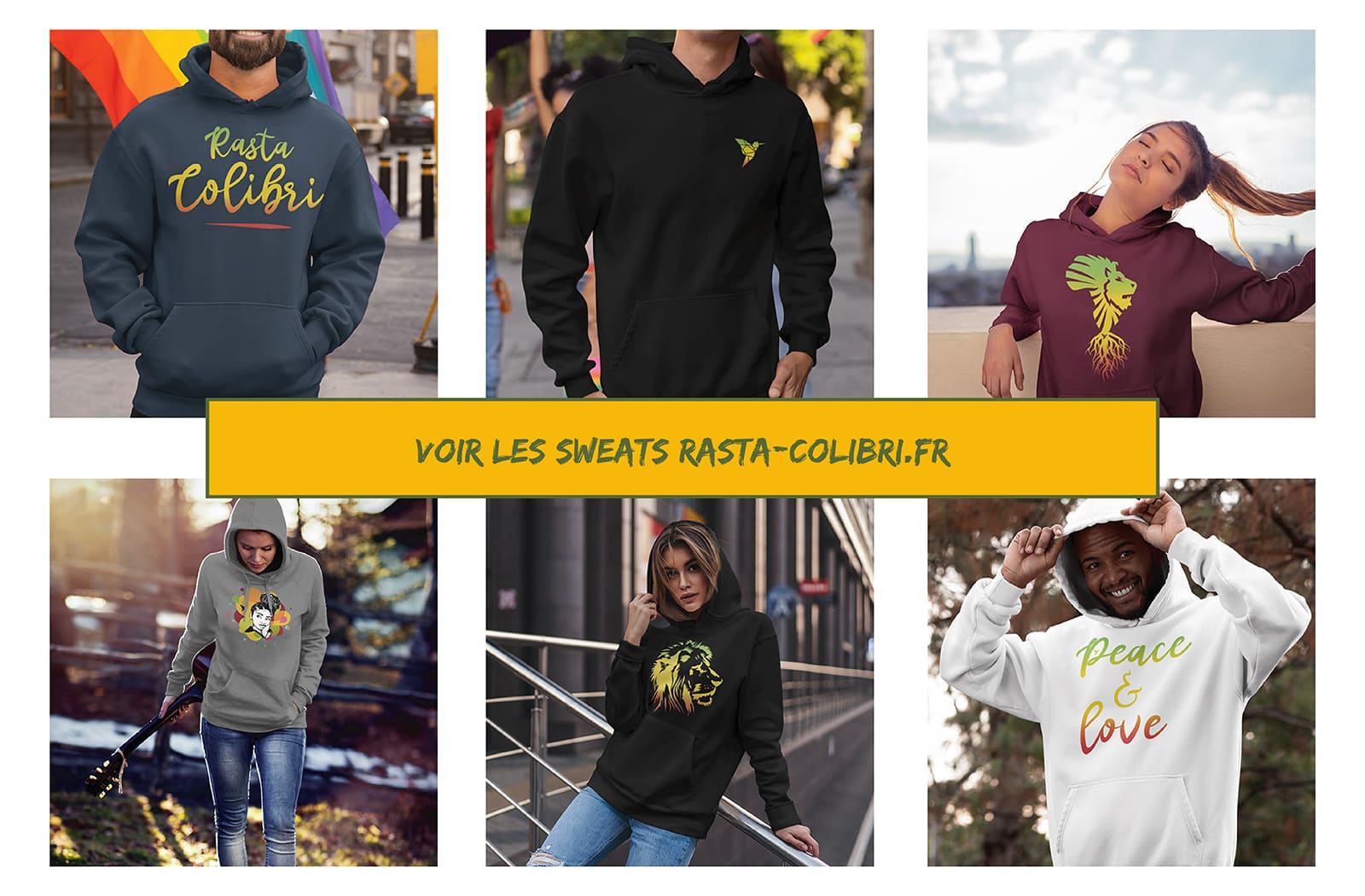 Collection de Sweats Rastas