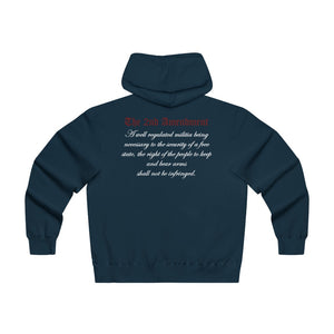 Men's Lightweight Zip Hooded Sweatshirt