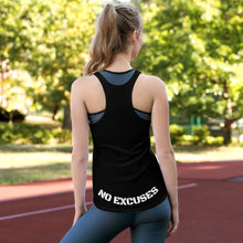 "Load image into Gallery viewer, Lethal ""No Excuses"" Racerback Tank"