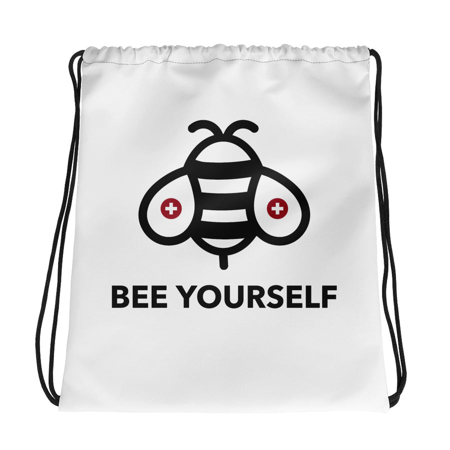 Bee Yourself - Drawstring bag