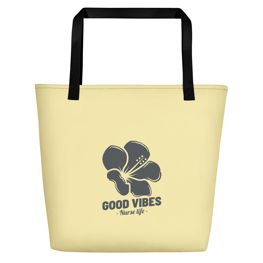 Good Vibes - Beach Bag