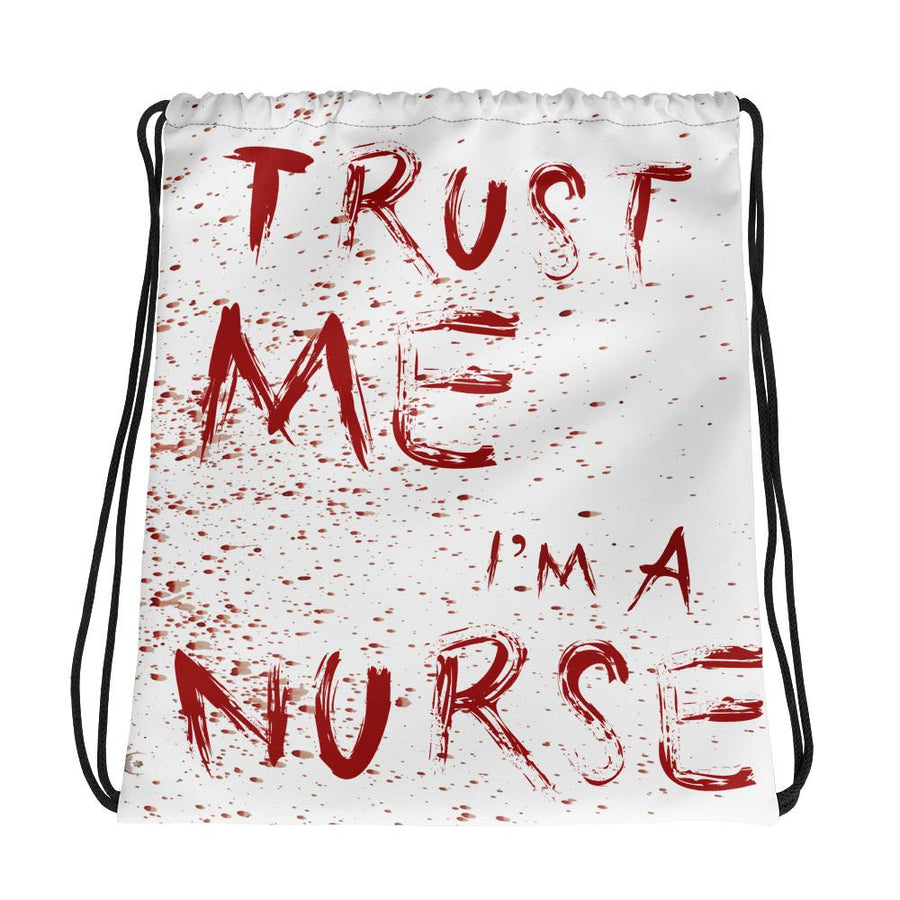 Nurse Drawstring bag