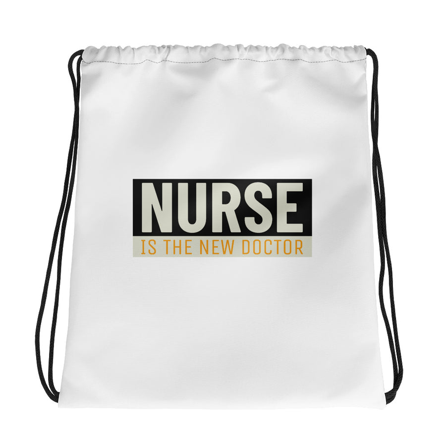 Nurse is the New Doctor - Drawstring bag