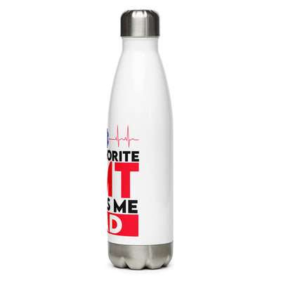 EMT's Dad Stainless Steel Water Bottle