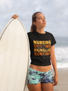 Nursing Surfing Unisex T-Shirt