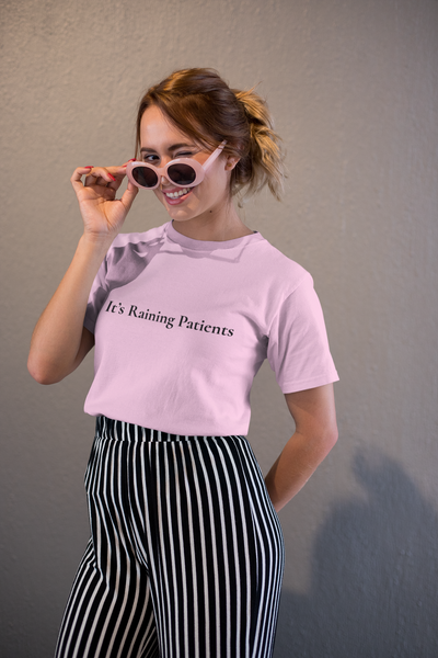 It's Raining Patients Short-Sleeve Unisex T-Shirt