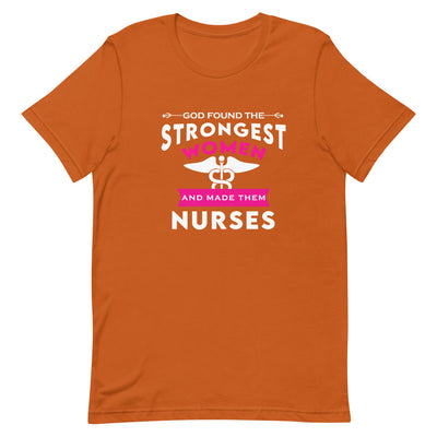 Strongest Women Short-Sleeve Unisex T-Shirt