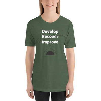 Develop, Recover, Improve Short-Sleeve Unisex T-Shirt
