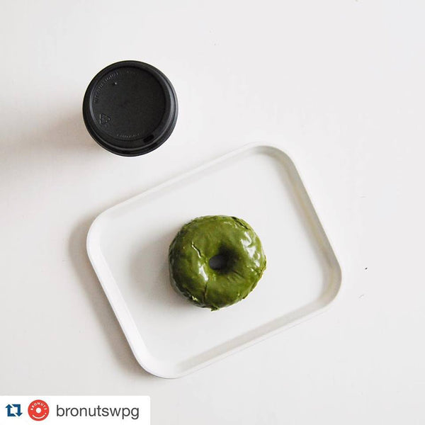 Matcha Donut by Bronuts with Namasthé Organic Matcha