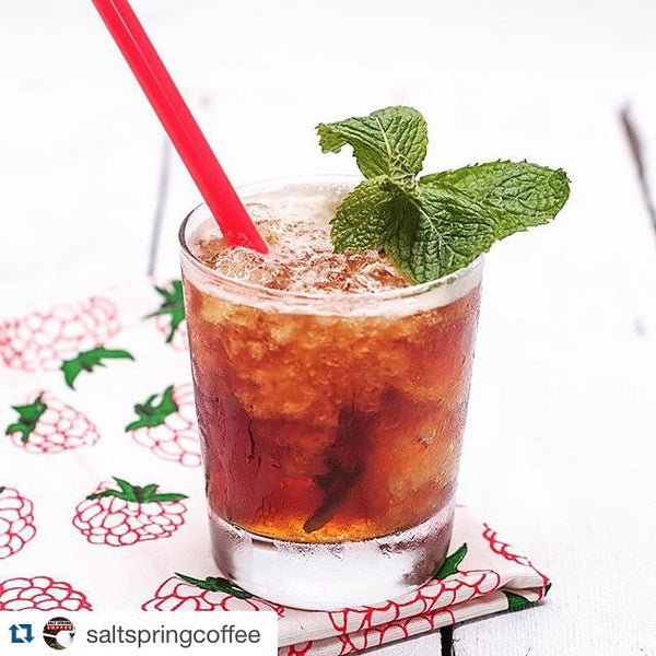 Mint Julep with Saltspring Coffee