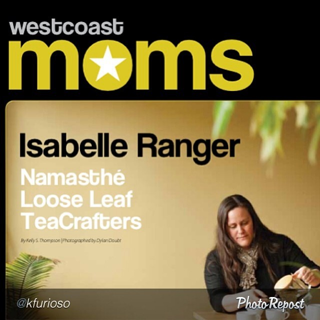 Isabelle Ranger West Coast Moms feature in West Coast Families
