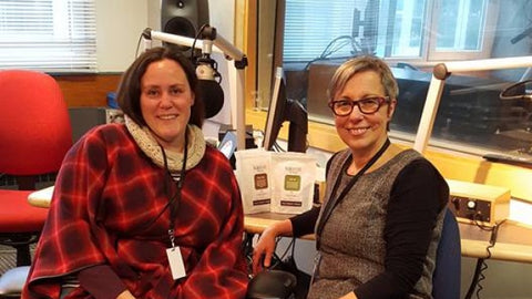 Isabelle Ranger and Sheryl Mackay at CBC interview
