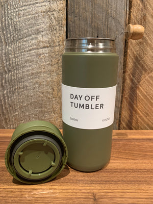 DAY OFF TEA TUMBLER