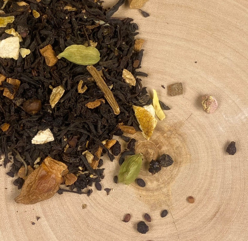 Hygge Chai - Elderberry Ginger Black Tea