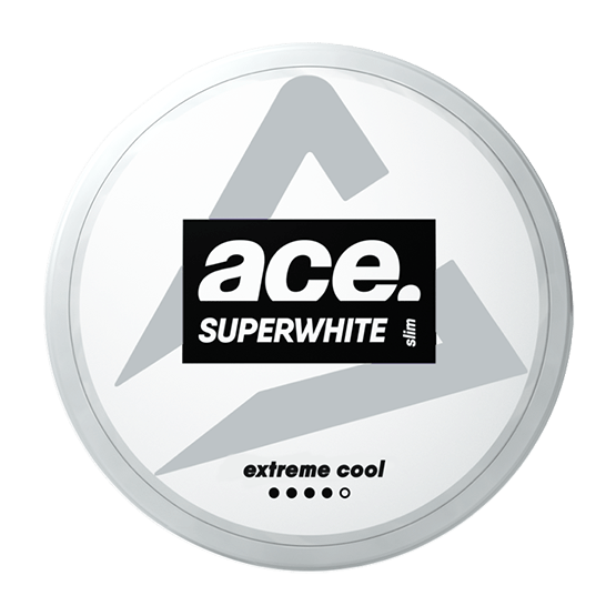 ACE Superwhite - Extreme Cool - Nic Pouch UK