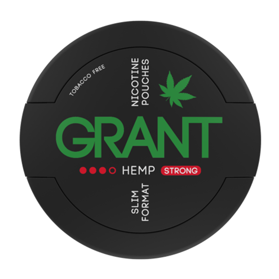 GRANT - Hemp - Nic Pouch UK