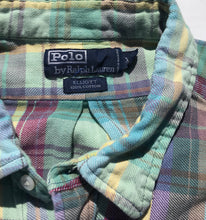 Load image into Gallery viewer, Hand Bleached Ralph Lauren Flannel
