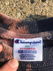 Bleach Dyed Champion Crewneck