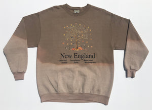 1990's Hand Bleached New England Crewneck