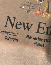Load image into Gallery viewer, 1990's Hand Bleached New England Crewneck