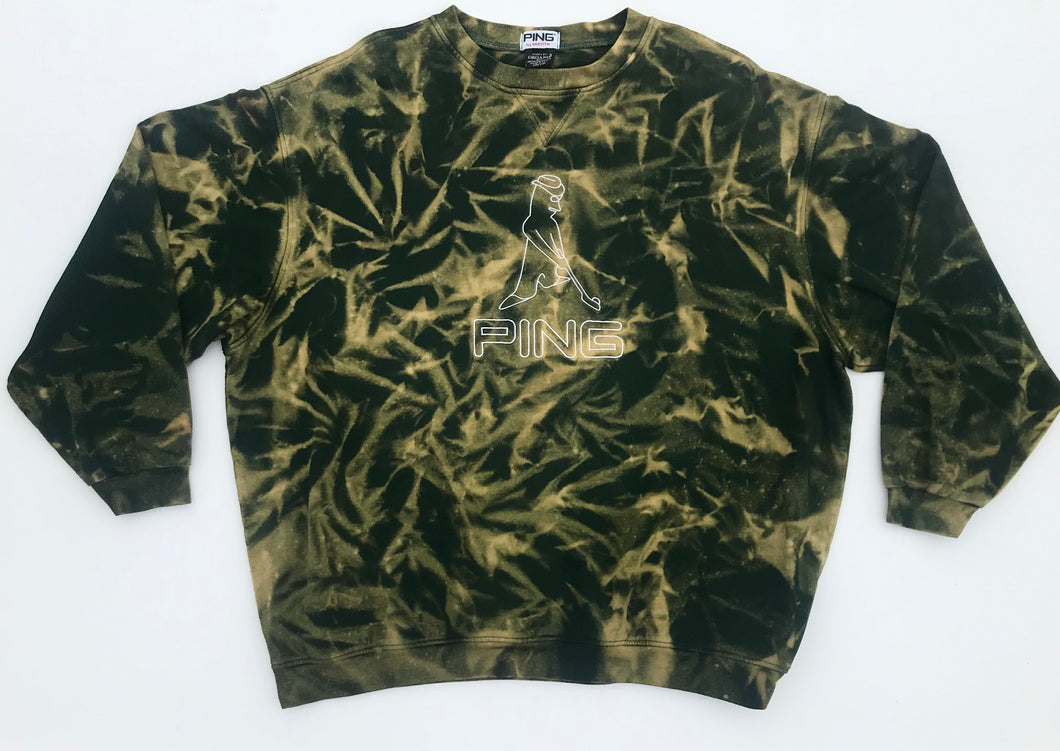 Hand Bleached Ping Long Sleeve.