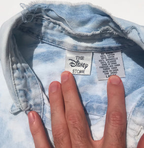 Bleach Dyed Disney Denim