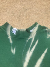 Load image into Gallery viewer, Hand Bleached MSU NIKE Turtle Neck