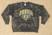 Load image into Gallery viewer, Hand Bleached Bruins Crewneck