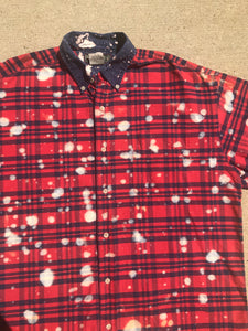 Hand Bleached Flannel