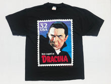 Load image into Gallery viewer, 1997 Dracula Stamp Graphic T-Shirt