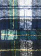 "Load image into Gallery viewer, 1990's Plaid ""Ride"" Vest"